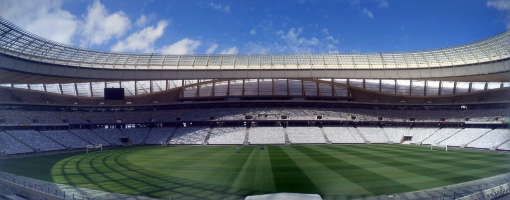 JUST ANOTHER DAY AT THE CAPE TOWN STADIUM