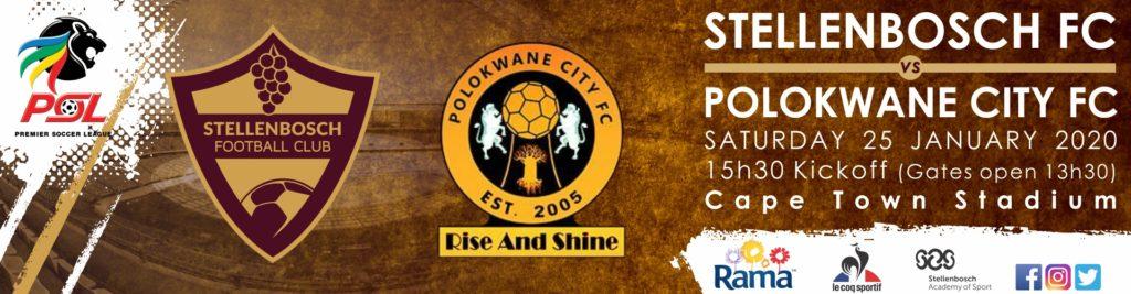 STELLENBOSCH FC VS POLOKWANE CITY FC