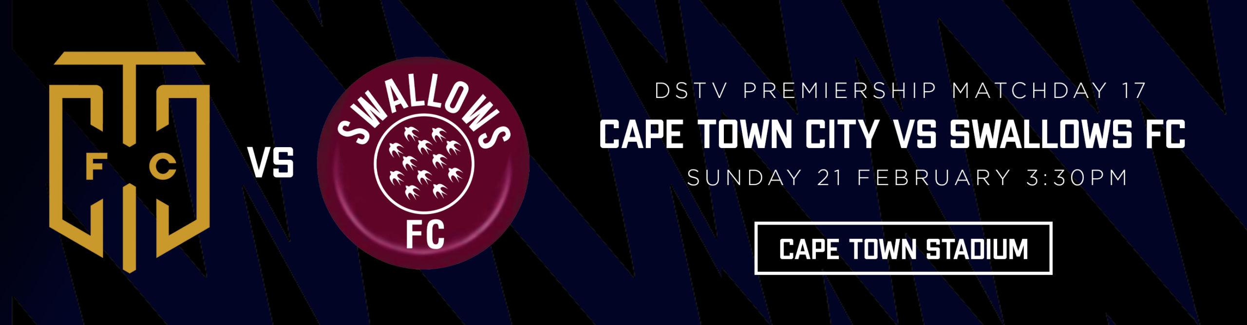 CAPE TOWN CITY VS SWALLOWS FC