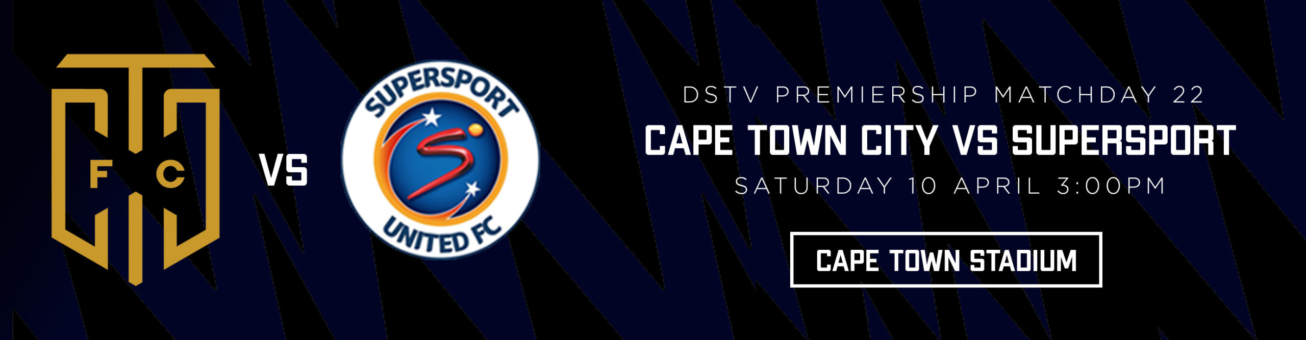 CAPE TOWN CITY VS SUPERSPORT