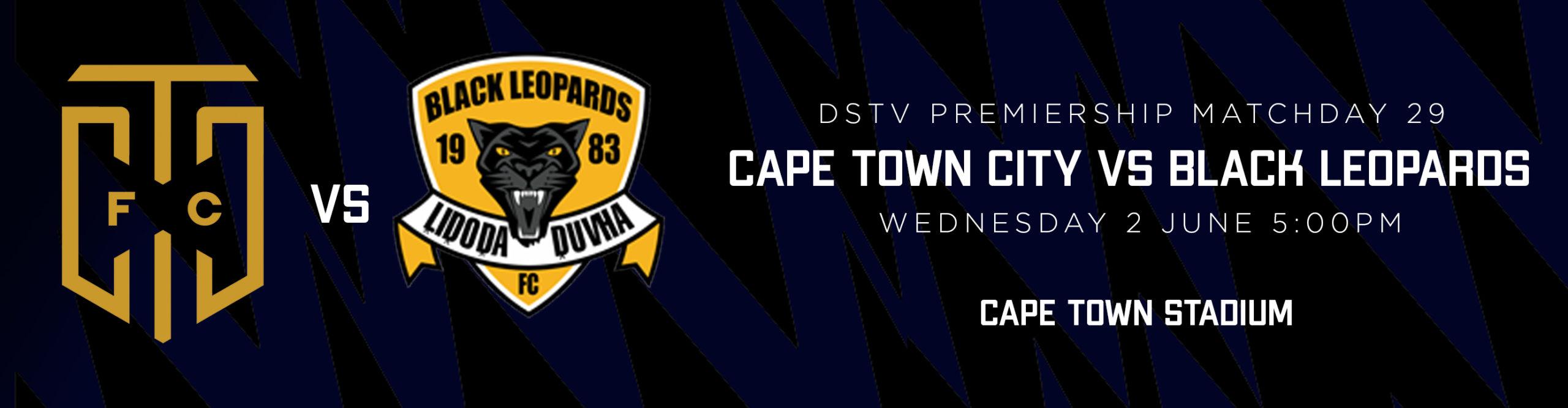 Cape Town City vs Black Leopards